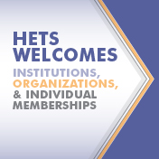 HETS welcomes Institutions, Organizations and Individual memberships